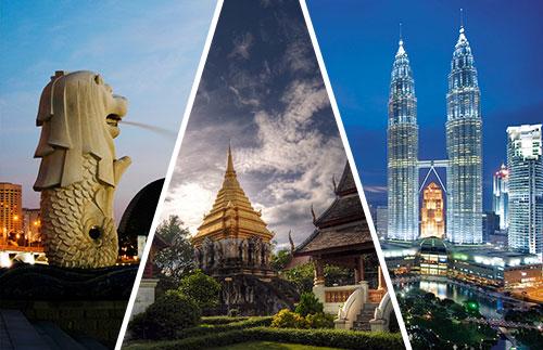 Backpacker Malaysia Singapura thailand