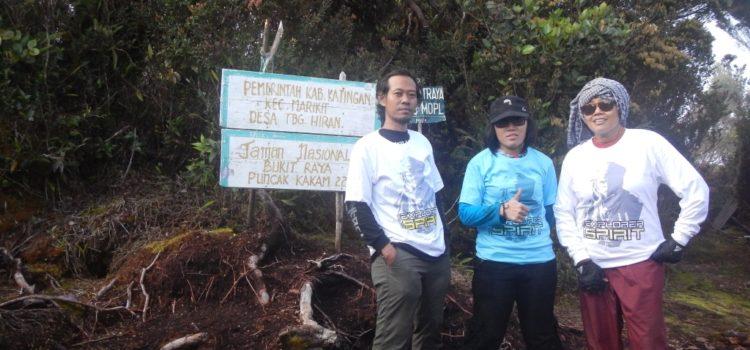 Pendakian Gunung Bukit Raya