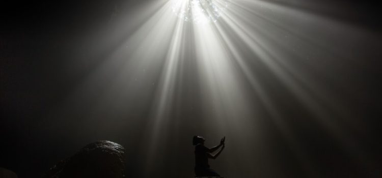 Luweng Jomblang dan Cahaya Surga