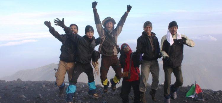 Album pendakian Gunung Semeru