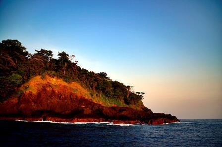 karang copong from sea
