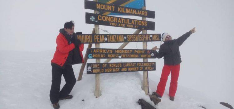 Pendakian Gunung Kilimanjaro
