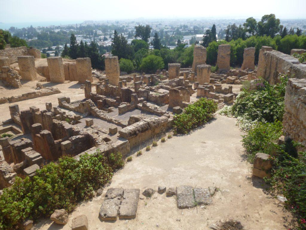 Site archéologique de Carthage (Tunisie)
