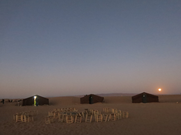 camp di sahara