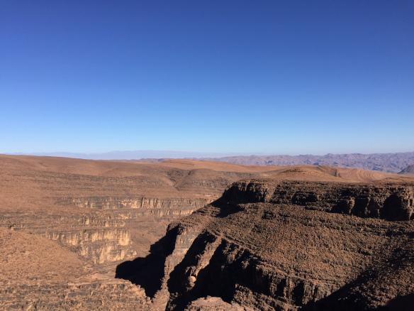 landscape to zagora