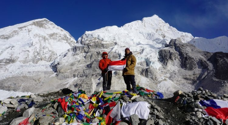 backpacking everest basecamp