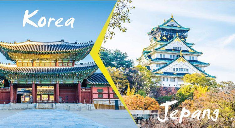 Wisata Jepang dan Korea