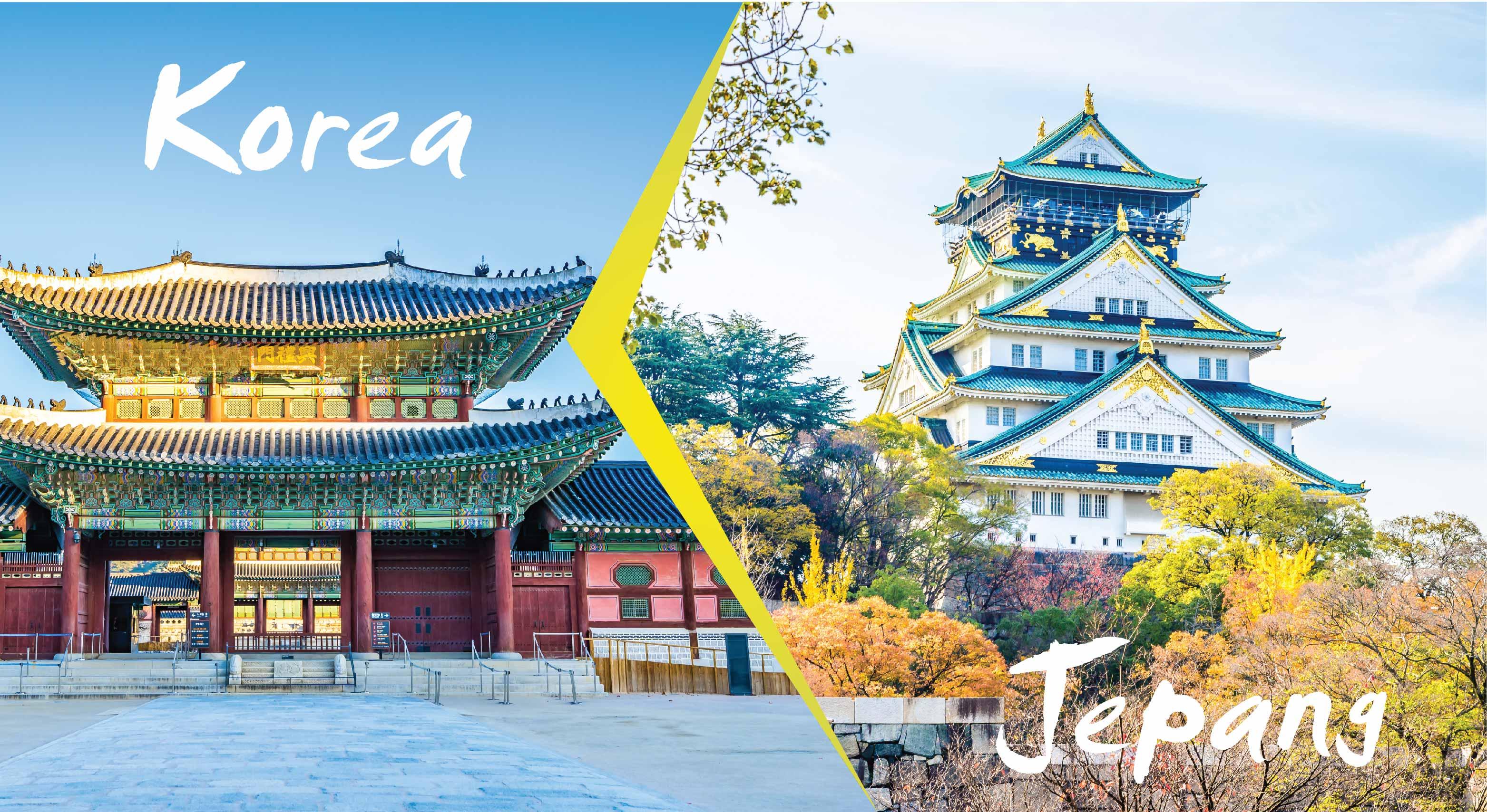 wisata jepang korea