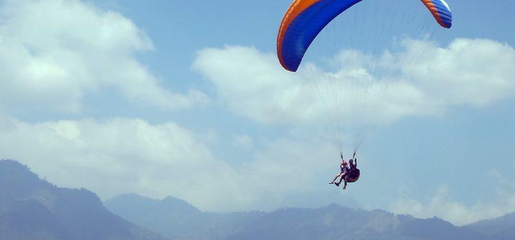 Berlatih Paralayang Demi Angkasa