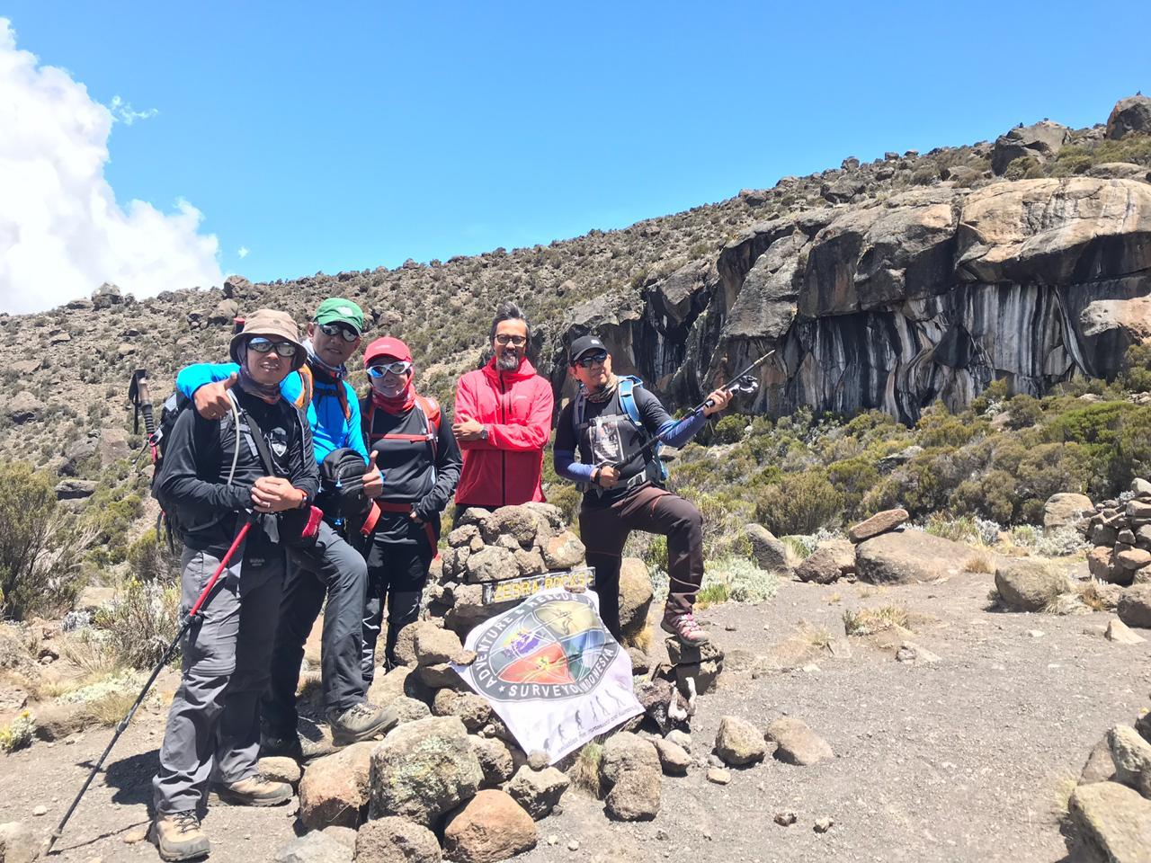 Pendakian kilimanjaro saat pandemi