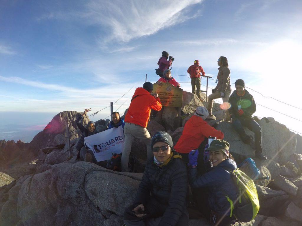 pendakian gunung kinabalu