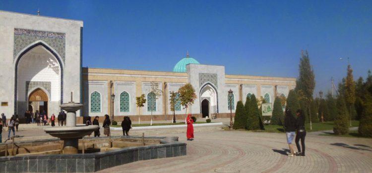 Backpacking Uzbekistan