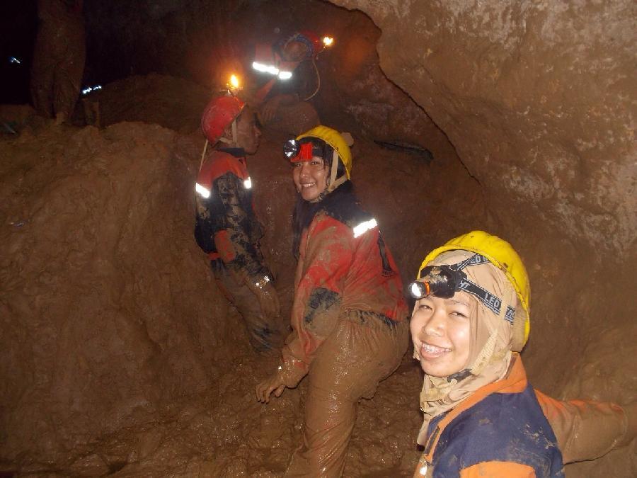 caving gua buniayu